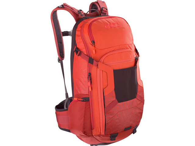 EVOC FR Trail Protector Backpack 20l orange/chili red